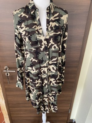 Long Bluse Camouflage Gr S