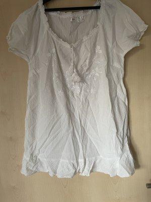 bpc bonprix collection Blusa estilo Crash blanco