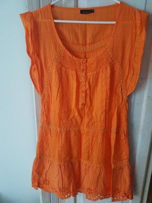 Fransa Sleeveless Blouse orange