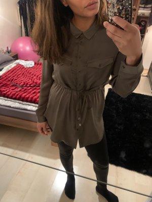 Tally Weijl Lange blouse khaki Polyester