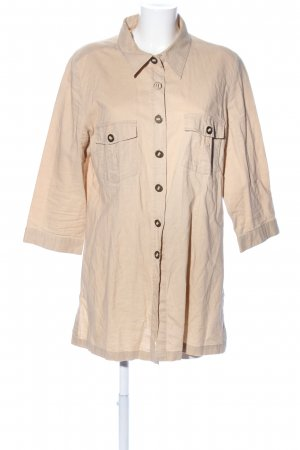 mangoon Long-Bluse creme Casual-Look