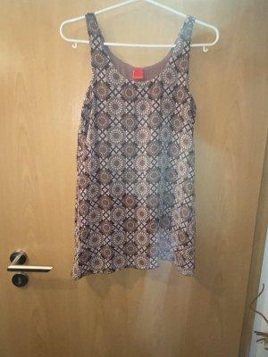 Long Bluse oder Minikleid Gr  xs