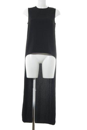 ADPT. Long-Bluse schwarz Elegant