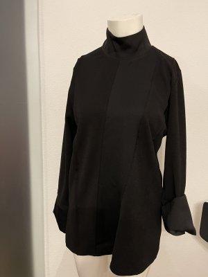 Long Bluse Tunika Stehkragen Gr 36 38 S von Zara