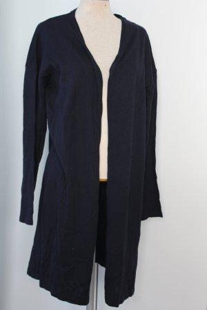 Long Cardigan 100 %  Baumwolle New Look neu Basic Gr. 44 nachtblau