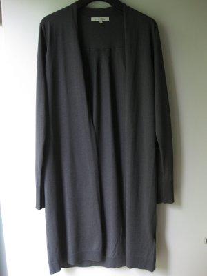 Sandwich Cardigan in maglia grigio-grigio scuro Cotone