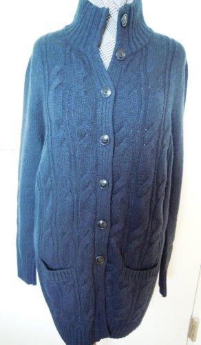 Tommy Hilfiger Cardigan tricotés bleu foncé laine alpaga