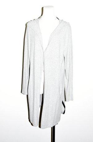 Comma Chaleco con capucha color plata Viscosa