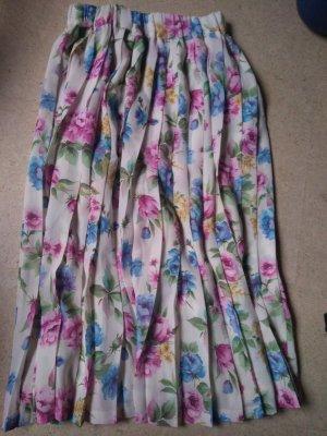 long floral skurt