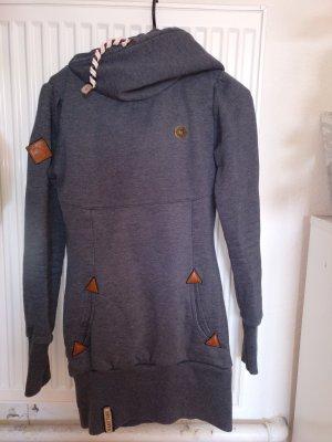 Naketano Hooded Sweater slate-gray