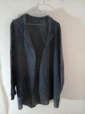 Anna Justper Long Jacket blue