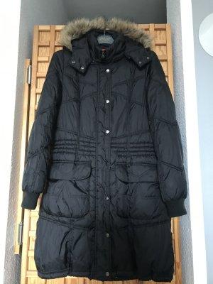 Vero Moda Winter Jacket black mixture fibre