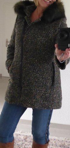 Fuchs Schmitt Wool Coat multicolored mixture fibre