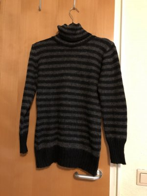 Long Pulli Turtle Neck gestreift Zara