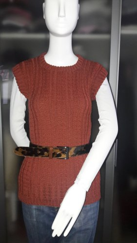 Long Pullover - Hand knitted