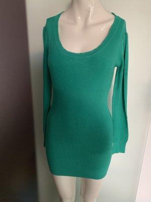 Long Pullover Minikleid Gr 38 40 M