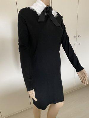 Long Pullover schwarz neu ohne Etikett 35% Viscose gr L/XL