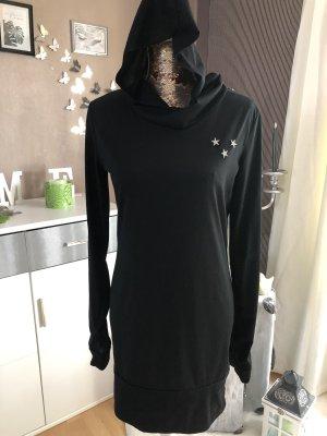 Blusa con capucha negro
