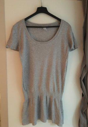 Long Shirt in grau, Größe M