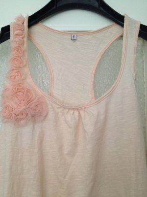 Long Shirt, rosa Top
