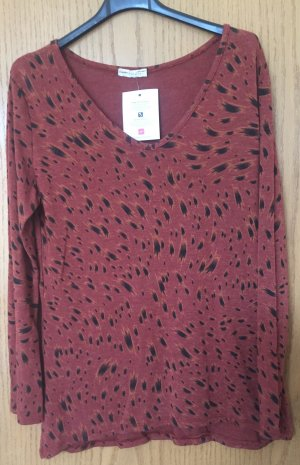 Welcome Fashion Print Shirt russet-black viscose