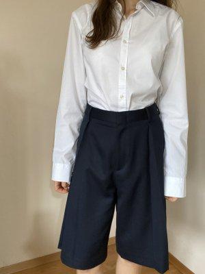 COS Pantalone culotte blu scuro