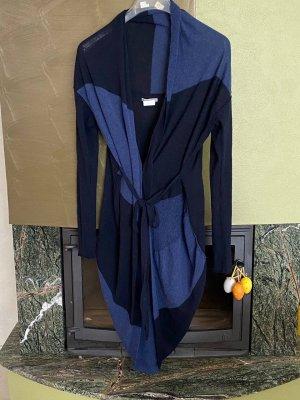 Sarah Pacini Knitted Cardigan black-blue