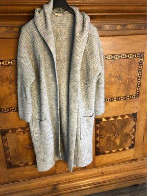 Esprit Abrigo ancho gris-color plata