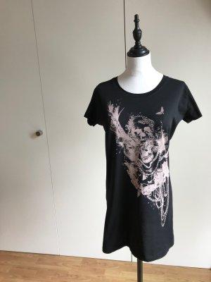 Long T-Shirt mit Print