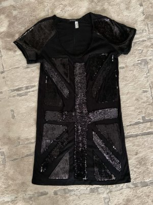Long t-shirt with shiny touch