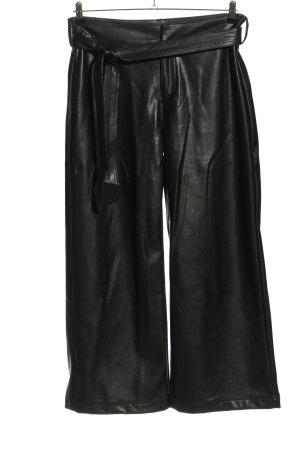 Long Tall Sally Pantalón de efecto piel negro look casual