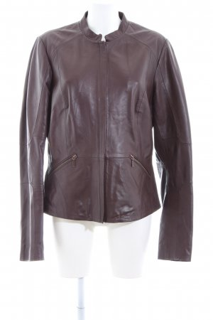 Long Tall Sally Leather Jacket brown casual look