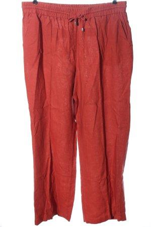 Long Tall Sally Pantalón de lino rojo look casual