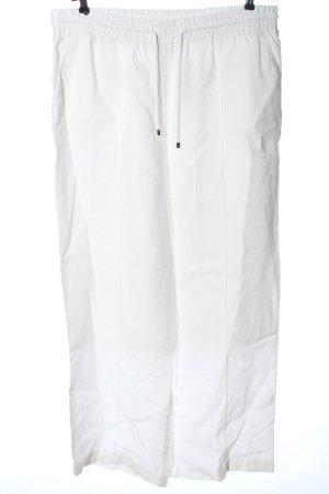 Long Tall Sally Pantalón de lino blanco look casual