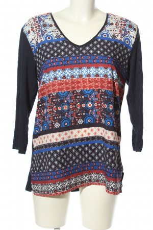 Long Tall Sally V-Neck Shirt graphic pattern casual look