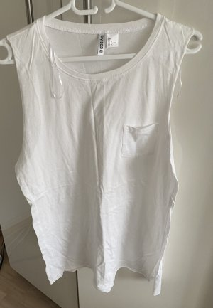 H&M Divided Long Top white