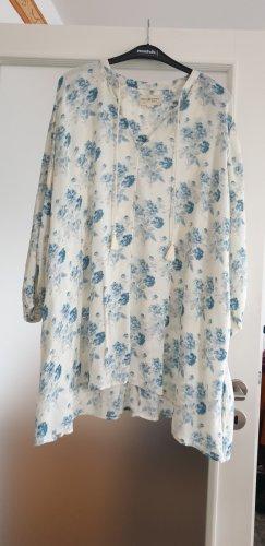 Denim & Supply Ralph Lauren Túnica blanco puro-azul aciano