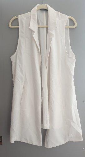 Veste chemise blanc cassé-crème