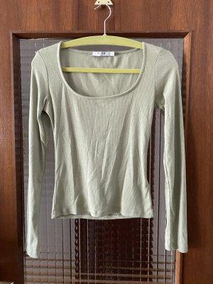 Longarm Shirt blassgrün