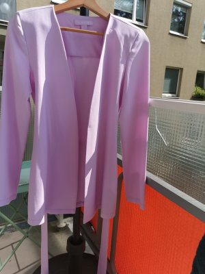 Amisu Lange blazer lichtroze Polyester