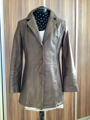 Gill's Leather Blazer bronze-colored