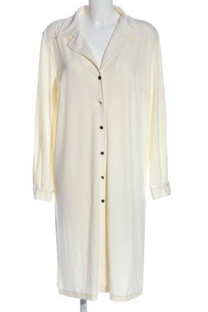Alba Moda Długa marynarka w kolorze białej wełny-kremowy
