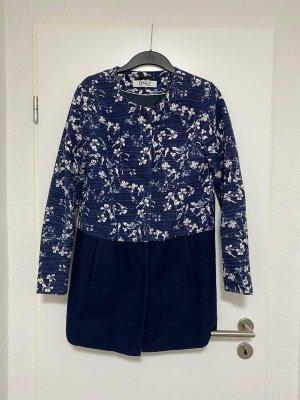 Longblazer langer Blazer Oberteil Jacke in M von ONLY in Blau