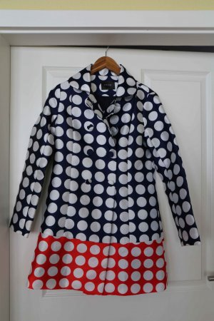 Long Blazer multicolored polyester