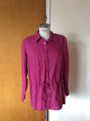 Best Connections Linen Blouse violet