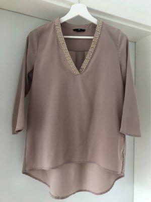 H&M Camicetta lunga rosa antico