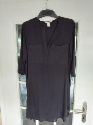 H&M Blusa larga negro