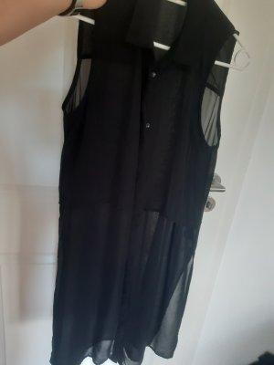 Dividend Lange blouse zwart