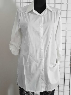 Made in Italy Blouse longue blanc