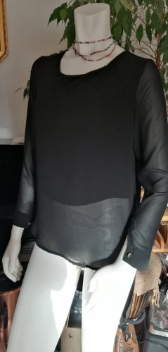 Made in Italy Long Blouse black